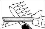 Como Afiar Canivete Victorinox