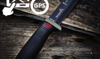 Faca de Mato com Localização GPS