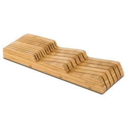 Bloco em Bambu p/ Facas p/ Gaveta