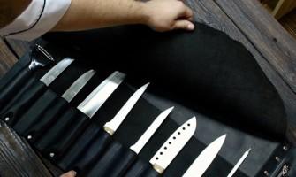 Documentação necessária para o transporte de facas?