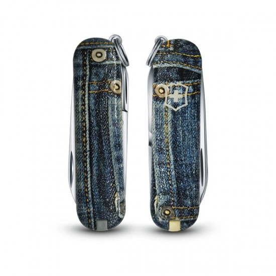 "Victorinox Classic ""3D Touch and Feel Jeans"""