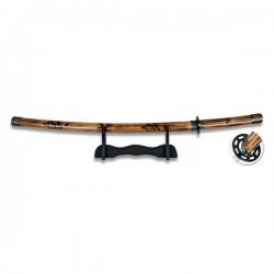 "Katana Samurai ""Wood"""