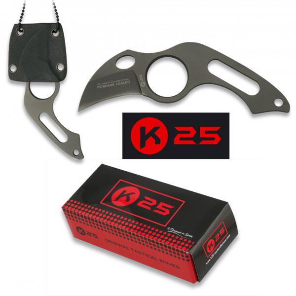 RUI - K25 Faca Táctica Funda Kydex 3,9 cm