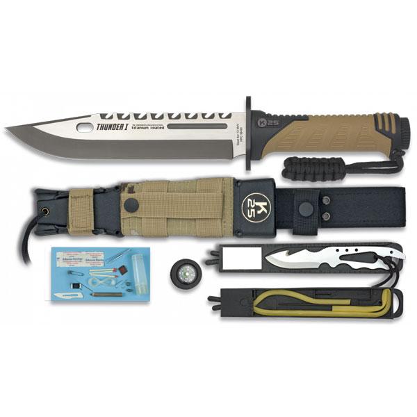 """RUI - K25 Faca Táctica """"Thunder I"""""""