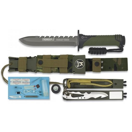 """RUI - K25 Faca Táctica """"Thunder II"""""""