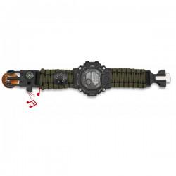 Relógio Táctico 55 c/ Paracord