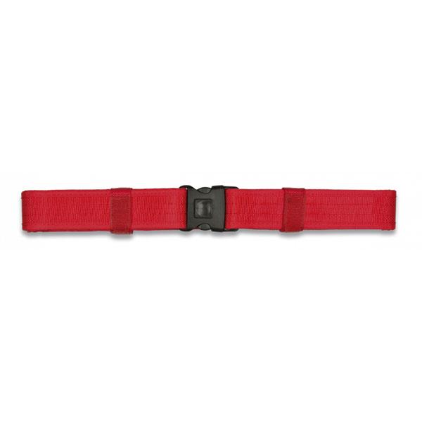 Cinto Táctico em Nylon Vermelho 138x5