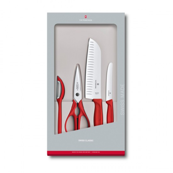 Conjunto de Cozinha Swiss Classic c/ 4 peças
