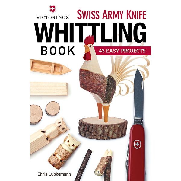 "Livro ""Victorinox Swiss Army Knife Whittling"""