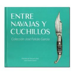 """Livro """"Entre Navajas Y Cuchillos - Colección José Falcão García"""""""
