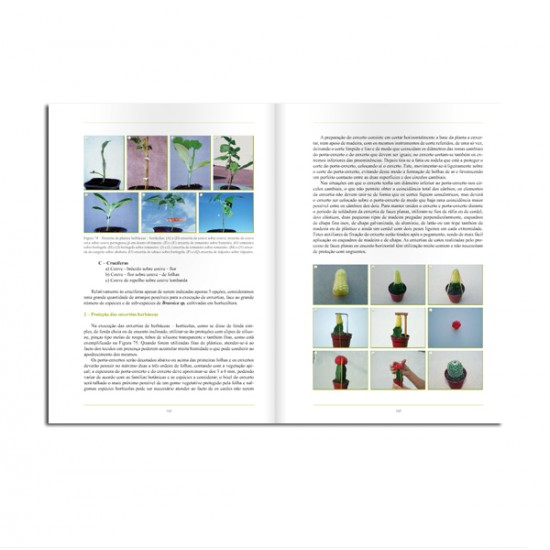 Livro Enxertias - Manual Técnico para Amadores e Profissionais