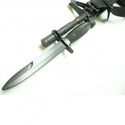 Faca Bayonet de Treino em Borracha