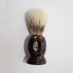 Pincel para Barbear - Acrílico Castanho
