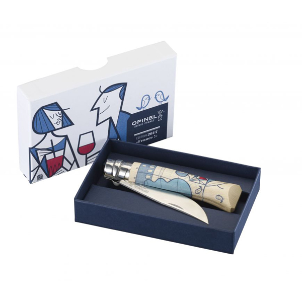 Opinel N°08 Edition France! 2017 by Ale Giorgini