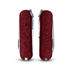 "Victorinox Classic ""3D Touch and Feel Red"""