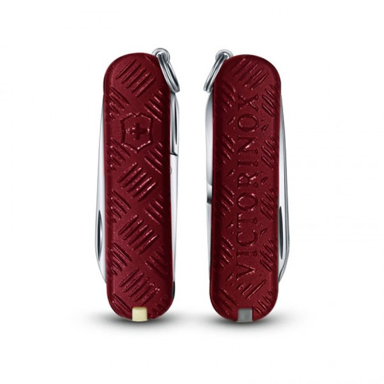 """Victorinox Classic """"3D Touch and Feel Red"""""""