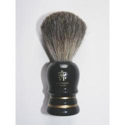 Pincel para Barbear - Preto e Dourado