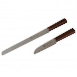 Ebony Prisma Jamon - Conjunto de facas para Chef