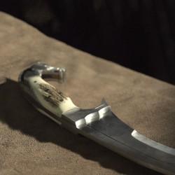 Falcata Lusitana Veado 46 cm c/ Caixa